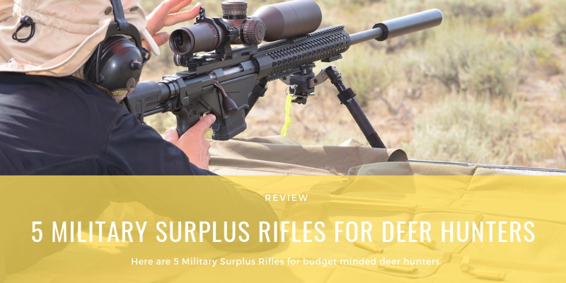 5 Military Surplus Rifles