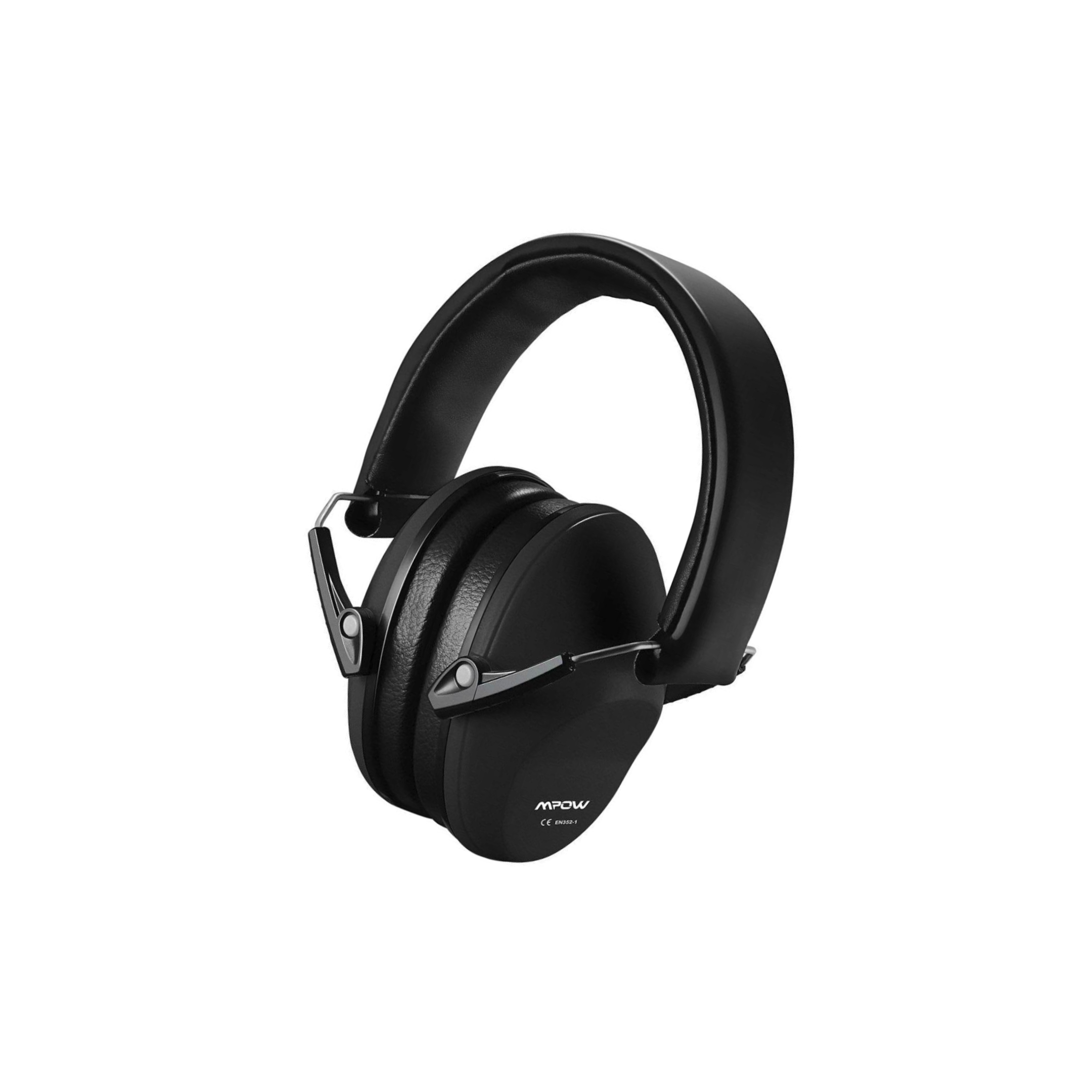 1 piece of black Mpow HP102A Bluetooth Ear Muff for Hunting
