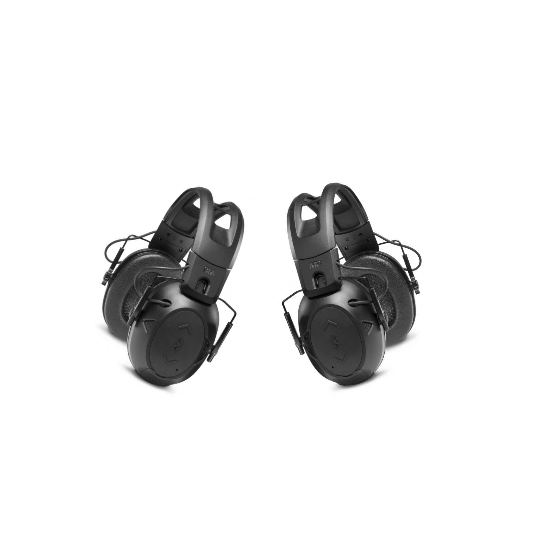 A Pair of Black Peltor Sport Tactical 500 Electronic Hearing Protector for hunting