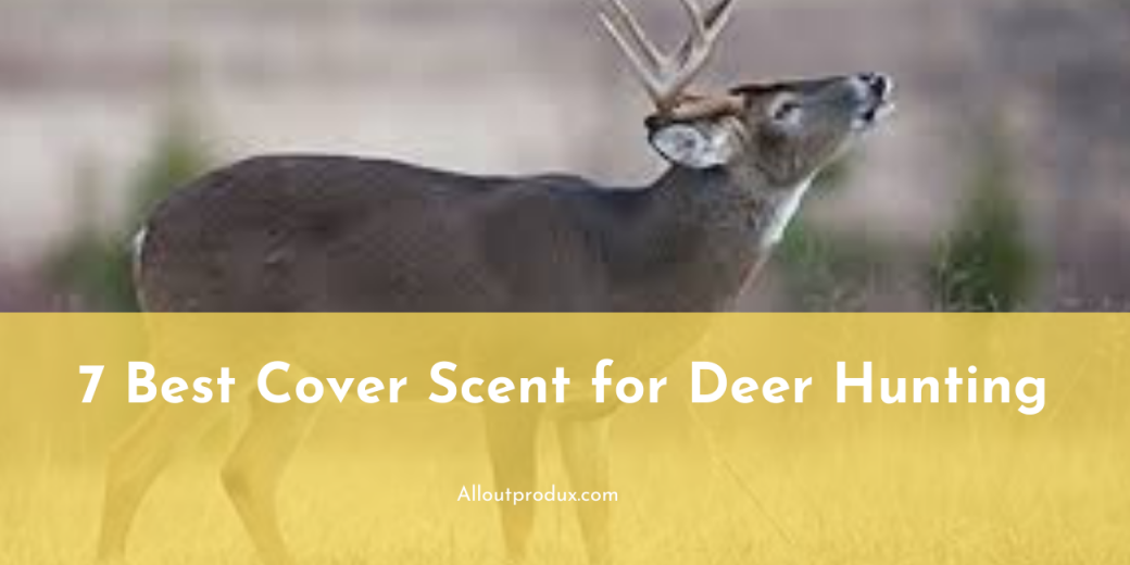 a deer trying to sniff and detect scent or smell in the sorrounding