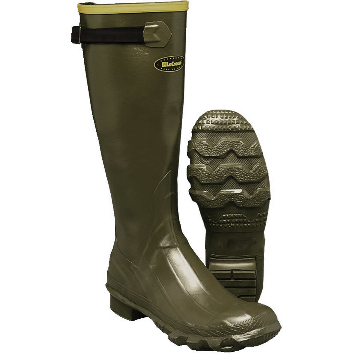 "a pair of LaCrosse Men's Grange 18"" Waterproof Hunting Boot"