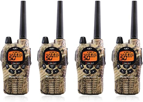 4 pieces of Midland GXT1050VP4 GMRS