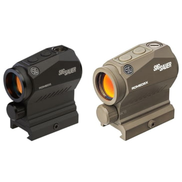 Sig Sauer Romeo5 1x20mm Compact 2 Moa Red Dot Sight, Black for deer hunting