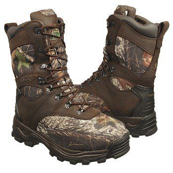 A pair of Mossy Oak Rocky Men's Sport Utility Pro Hunting Boot