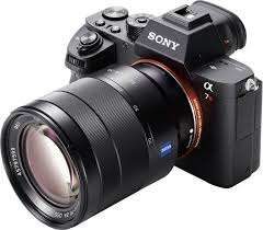 Sony a7R II Full-Frame Mirrorless Interchangeable Lens Camera, Body Only (Black)