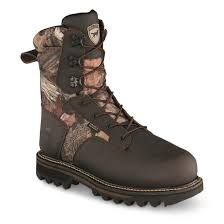 Mossy Oak Break-up Country Guide Gear Giant Timber II Men'sInsulated Waterproof Hunting Boots, 1,400-gram