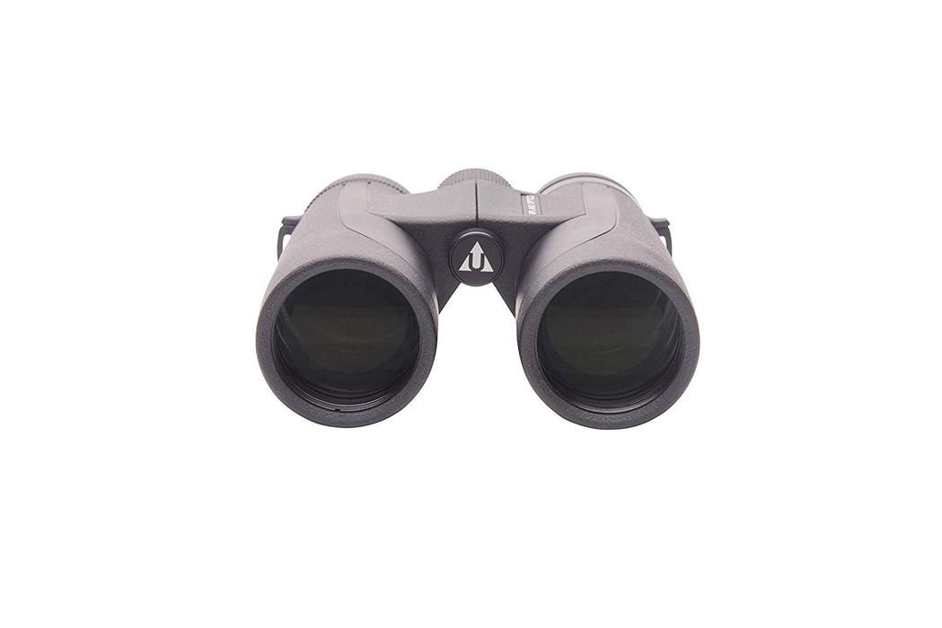 a black colored Upland Optics Perception HD10x42mm Hunting Binocular