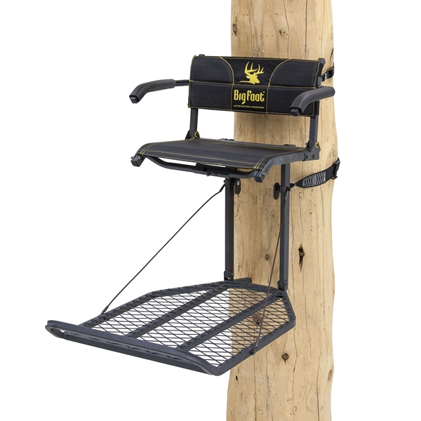 Rivers Edge RE556, Big Foot TearTuff XL Lounger, Lever-Action Hang-On Tree Stand