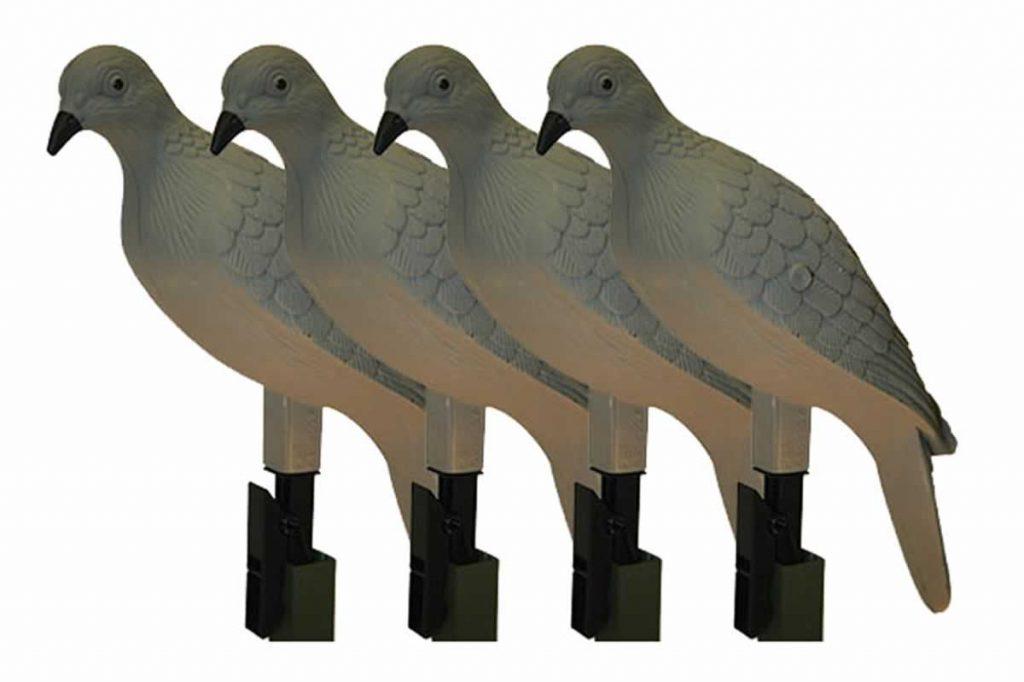 MOJO Clip On Dove Decoys (4-pack)
